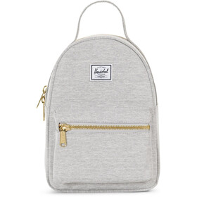 Herschel Nova Mini Selkäreppu 9l, light grey crosshatch